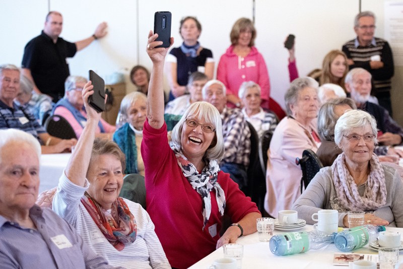 Zusammenkunft Senioren