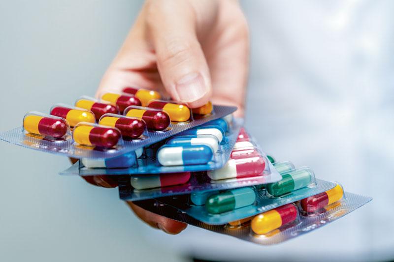 Antibiotika Nahaufnahme
