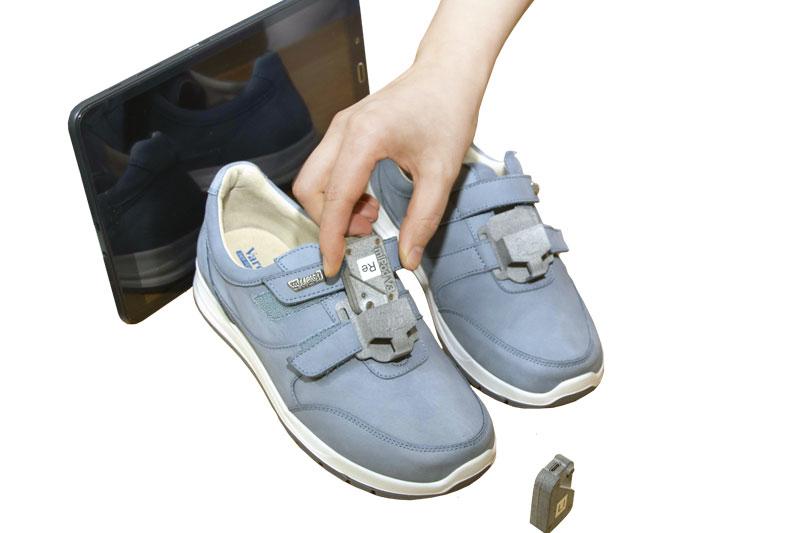 Schuhe mit Sensoren