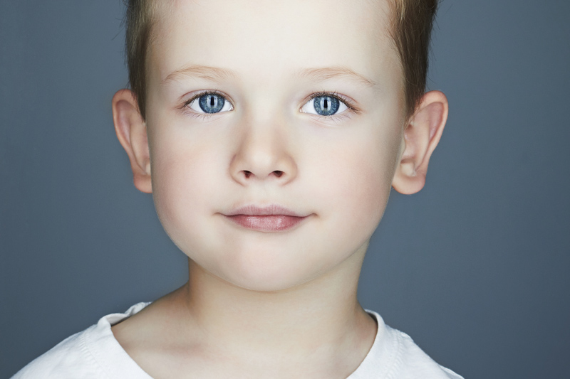 Gesicht eines Kindes