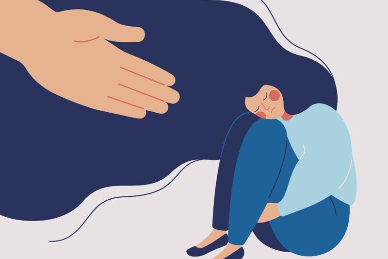 Visualisierung psychische Erkrankung