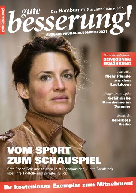 gute besserung! 2021/1 Cover mit Judith Sehrbrock
